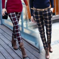 Gösterişli Yeni Sezon Ekose Pantolon Modelleri