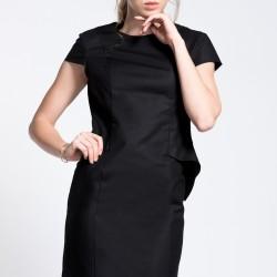Sade Siyah Park Bravo Elbise Modelleri