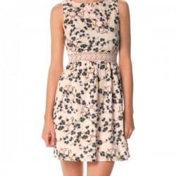 Zarif Yeni Sezon Çiçek Desenli Elbise Modelleri