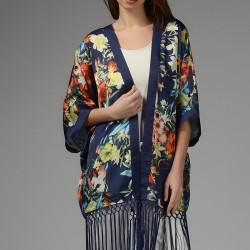 Çiçekli Kimono Yeni Sezon Park Bravo Modelleri