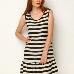 Çizgili Mudo 2015 Elbise Modelleri