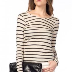 Çizgili Zara 2015 Bluz Modelleri