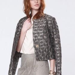 Baklava Jakarlı Ceket Naive 2015 Modelleri