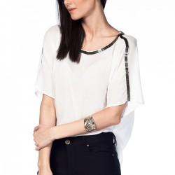 Beyaz Bluz NG Style Yeni Sezon Modelleri