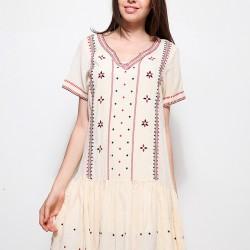 Etnik Desenli Mudo 2015 Elbise Modelleri