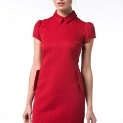 Kırmızı Mini adL 2015 Elbise Modelleri
