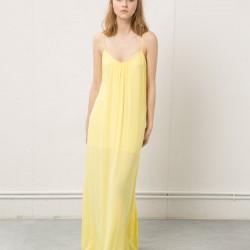 Sarı Salaş Bershka 2015 Elbise Modelleri
