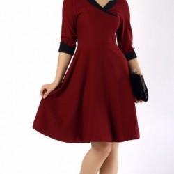 Şık Yetim Kol Elbise Modelleri