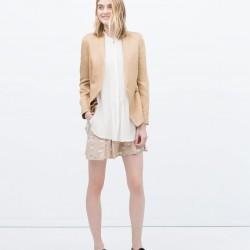Camel Zara 2015 Ceket Modelleri