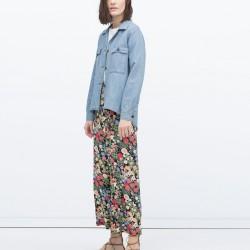 Denim Zara 2015 Ceket Modelleri