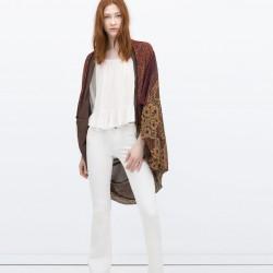 Desenli Zara 2015 Ceket Modelleri