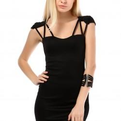 Mini Siyah Yeni Sezon Spor Elbise Modelleri