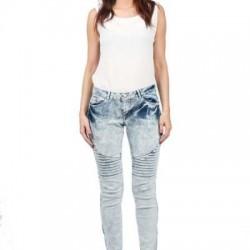 Nervürlü Kot Yazlık Pantolon Modelleri
