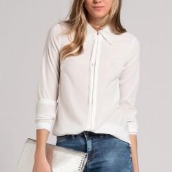 Sade Beyaz 2015 Gömlek Modelleri
