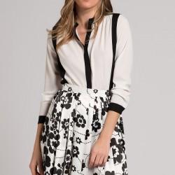 Siyah Beyaz 2015 Gömlek Modelleri