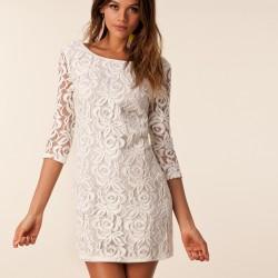 Yazlık En Güzel Dantelli Elbise Modelleri