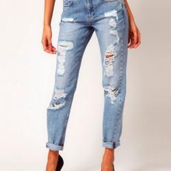 Yeni Yırtık Pantolon Modelleri