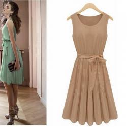Zarif 2015 Pileli Elbise Modelleri