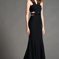 Zarif Siyah 2015 Gece Elbisesi Modelleri