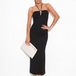 Şık Siyah Bayram İçin Elbise Modelleri