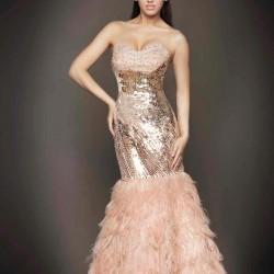 Balık Pudra 2015 Payetli Elbise Modelleri