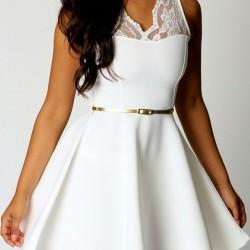 Beyaz Elbise 2015 Yaz Sezonu Renk Trendleri
