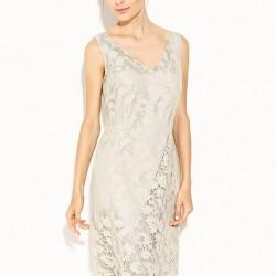 Gümüş Rengi Bayram İçin Elbise Modelleri