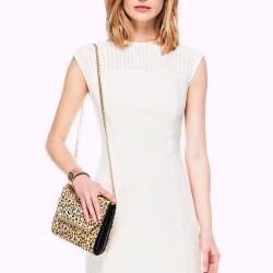Kolsuz Ekru İpekyol Elbise Modelleri