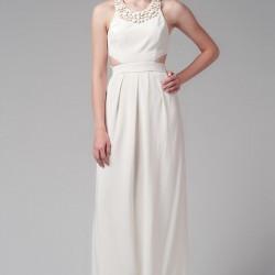Yazlık 2015 Beyaz Elbise Modelleri