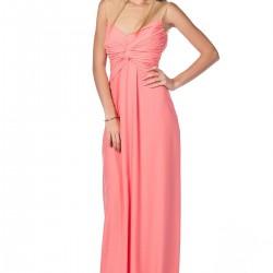 Mercan Rengi Roman Elbise Modelleri