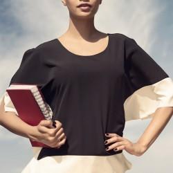 Siyah Bluz İroni 2015 Modelleri