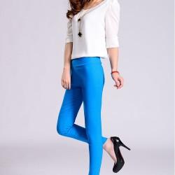 Açık Mavi Kalem Pantolon Kombinleri