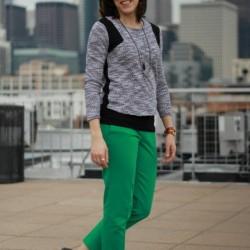 En güzel yeşil pantolon modelleri