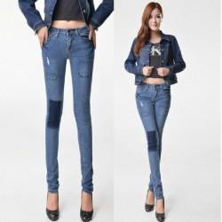 En güzel yamalı kot pantolon kombinleri