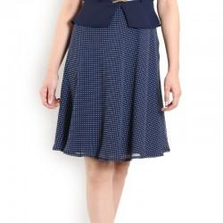 Kemer Detaylı Ekol Elbise Modeli