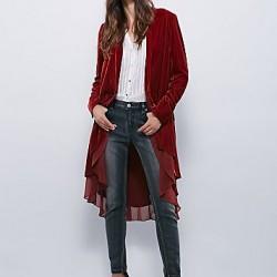 Bayan Kadife Ceket Modelleri