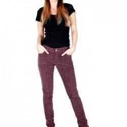 Düşük Bel Kadife Bayan Pantolon Modelleri