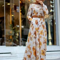 En Güzel Armine Tesettür Günlük Elbise Modelleri 2016