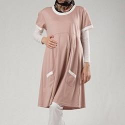 En Yeni Tesettür Hamile Giyim Modelleri