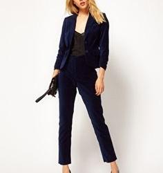 Kadife pantolon ceket kombini 2016