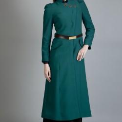 Kemer Detaylı Tesettür Günlük Elbise Modelleri