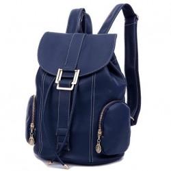 Mavi Renkli Bayan Sırt Çanta Modelleri