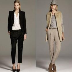 Zara Bayan Kumaş Pantolon Modelleri