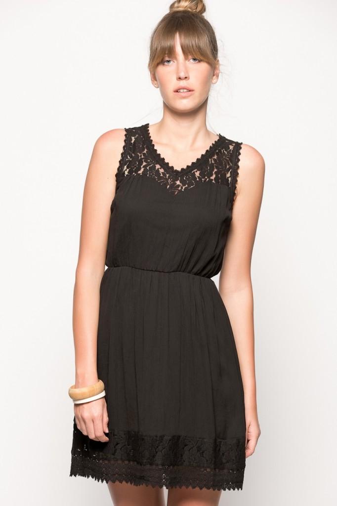 Dantel Süslemeli Vero Moda Elbise Modelleri