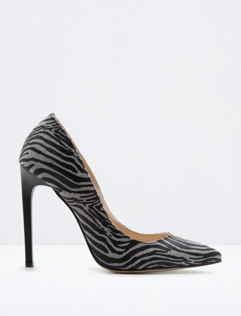Desenli Yüksek Topuklu Koton Ayakkabı Modelleri