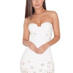 En Şık Lazer Kesim Elbise Modelleri