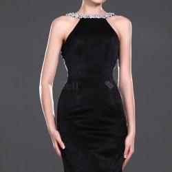 En Güzel Kadife Abiye Elbise Modelleri 2016