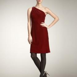 En Tarz Kadife Elbise Modelleri 2016