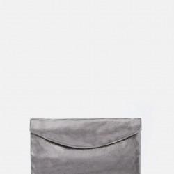 Gümüş Renkli Mango Çanta Modeli