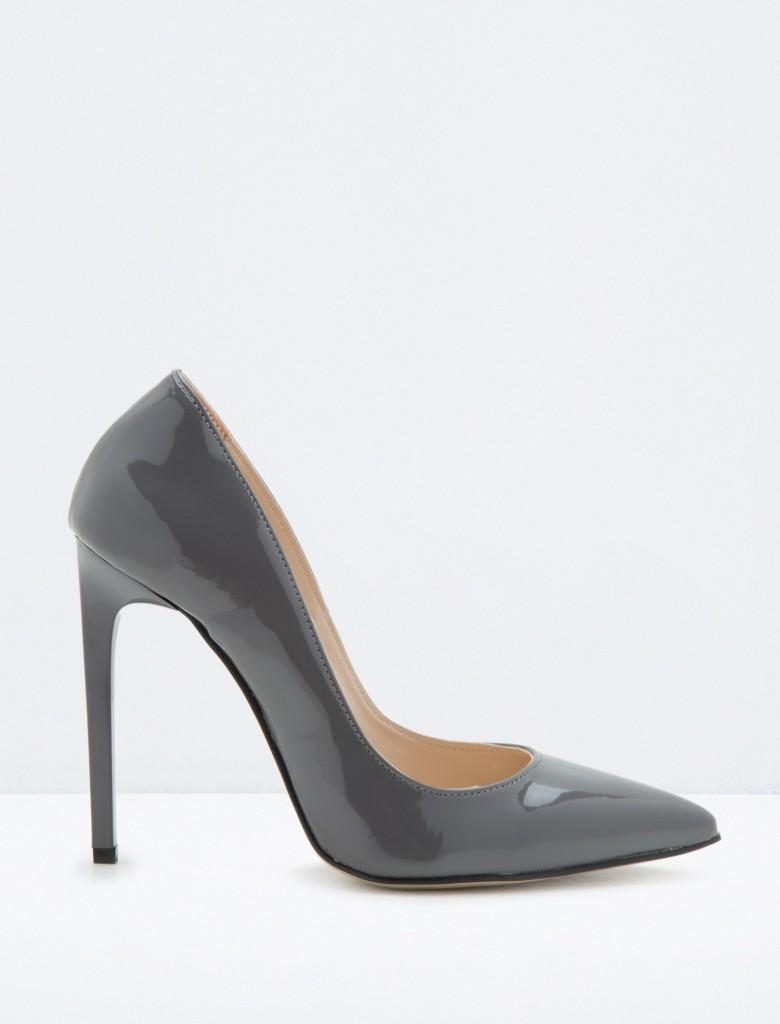 Gri Renkli Koton Bayan Ayakkabı Modelleri